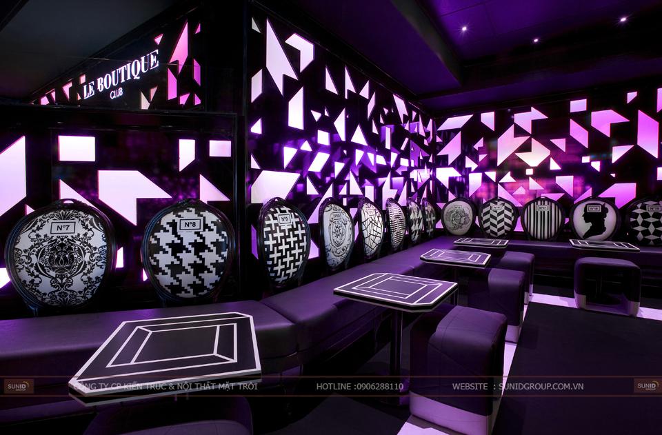 Thiết kế thi công quán bar chuyên nghiệp