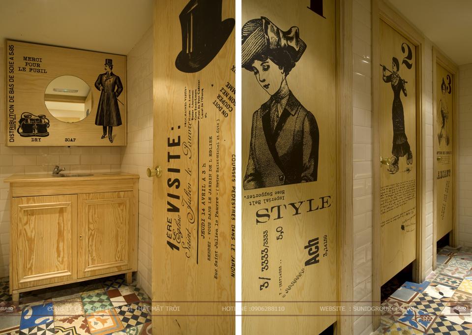 Thiết kế nội thất quán bar theo phong cách Châu Âu