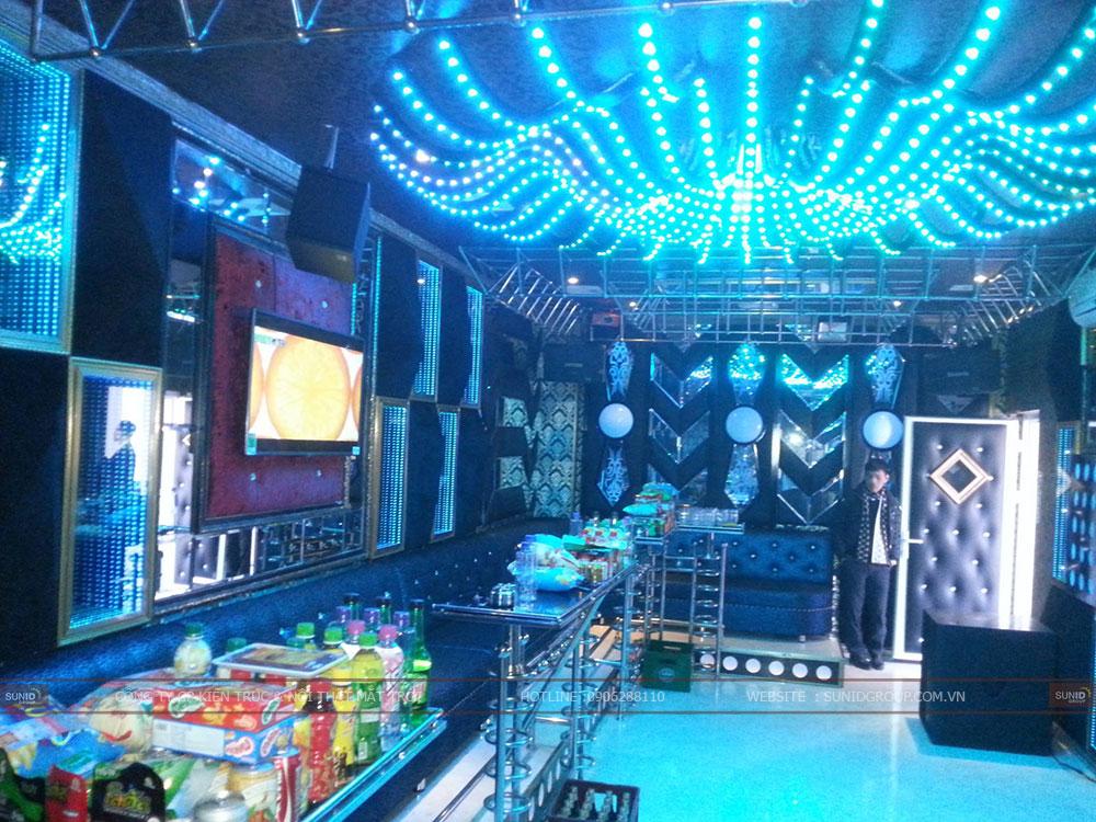 Thiết kế thi công phòng Karaoke như bar club mini