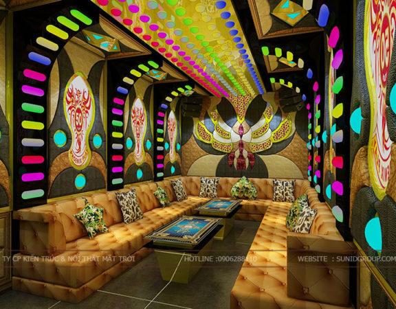Thiết kế nội thất phòng Karaoke đẹp lung linh