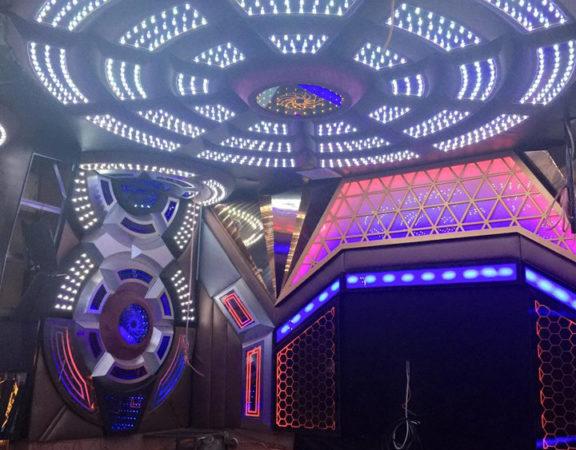 Thiết kế thi công nội thất phòng hát karaoke đẹp