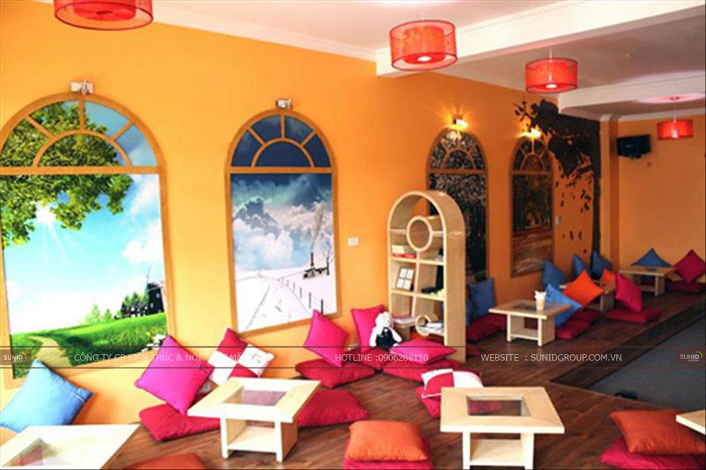 11 Mẫu thiết kế quán cafe bệt đẹp - ấn tượng