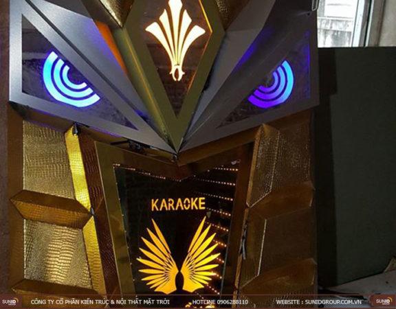 Thi công phòng karaoke với vật liệu siêu bền, siêu đẹp