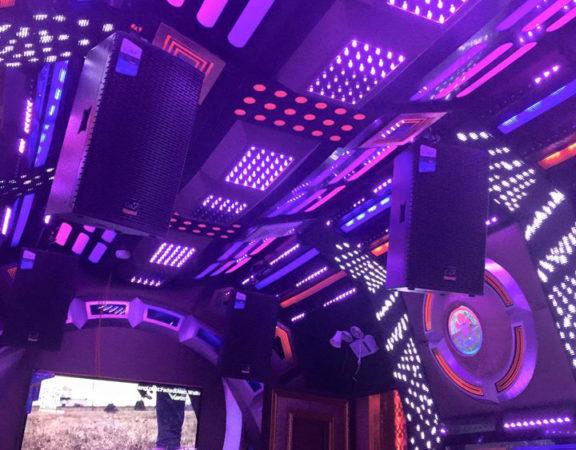 Thiết kế thi công nội thất phòng karaoke