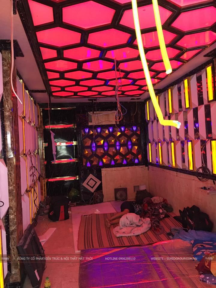 Thiết kế thi công nội thất phòng Karaoke  chuyên nghiệp