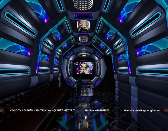 Thiết kế nội thất phòng hát karaoke độc đáo