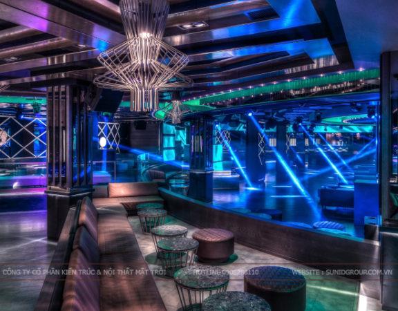 Thiết kế nội thất quán Bar đẹp ấn tượng