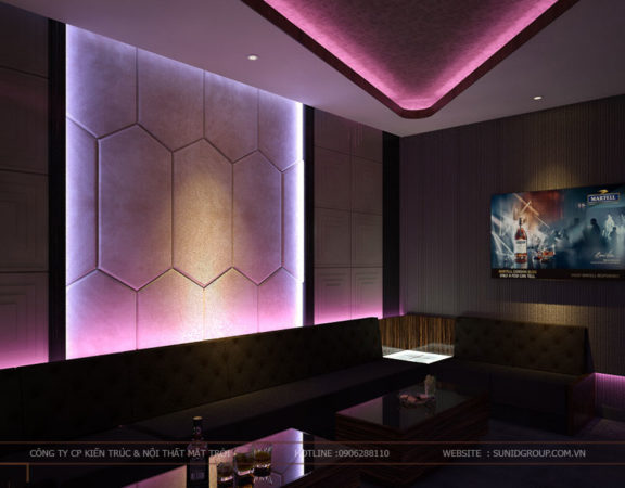 Thiết kế nội thất phòng Karaoke đẹp - giá rẻ
