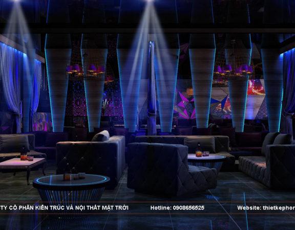 Thiết kế nội thất quán Bar chuyên nghiệp