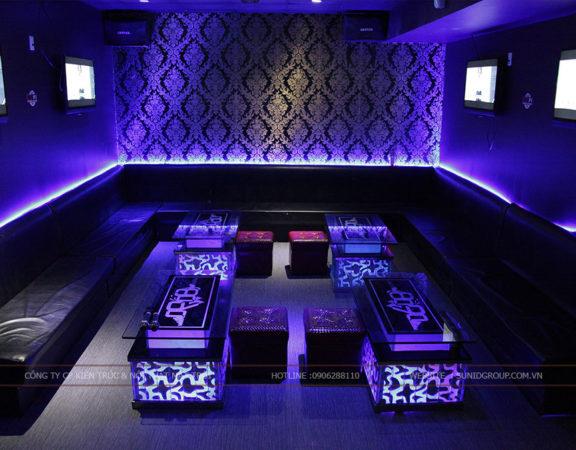 Thiết kế nội thất phòng karaoke hiện đại đẳng cấp