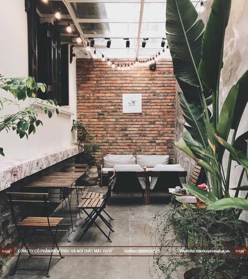 cafe cây xanh 6