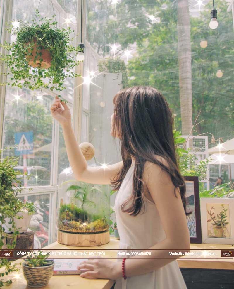 cafe cây xanh 7