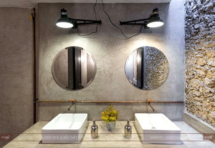 Thiết kế thi công nội thất quán cafe theo phong cách hoài cổ