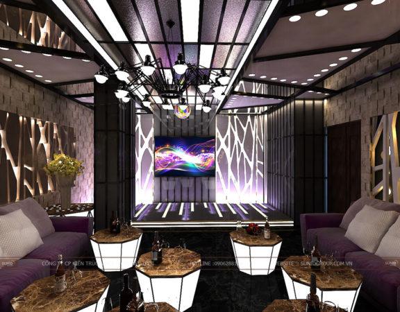 Thiết kế nội thất, ngoại thất phòng Karaoke đẹp hiện đại