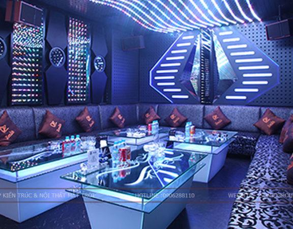 Thiết kế thi công nội thất phòng Karaoke đẹp tại Hà Nội