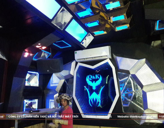 Chuyên thi công phòng hát karaoke Vip giá rẻ tại Hà Nội