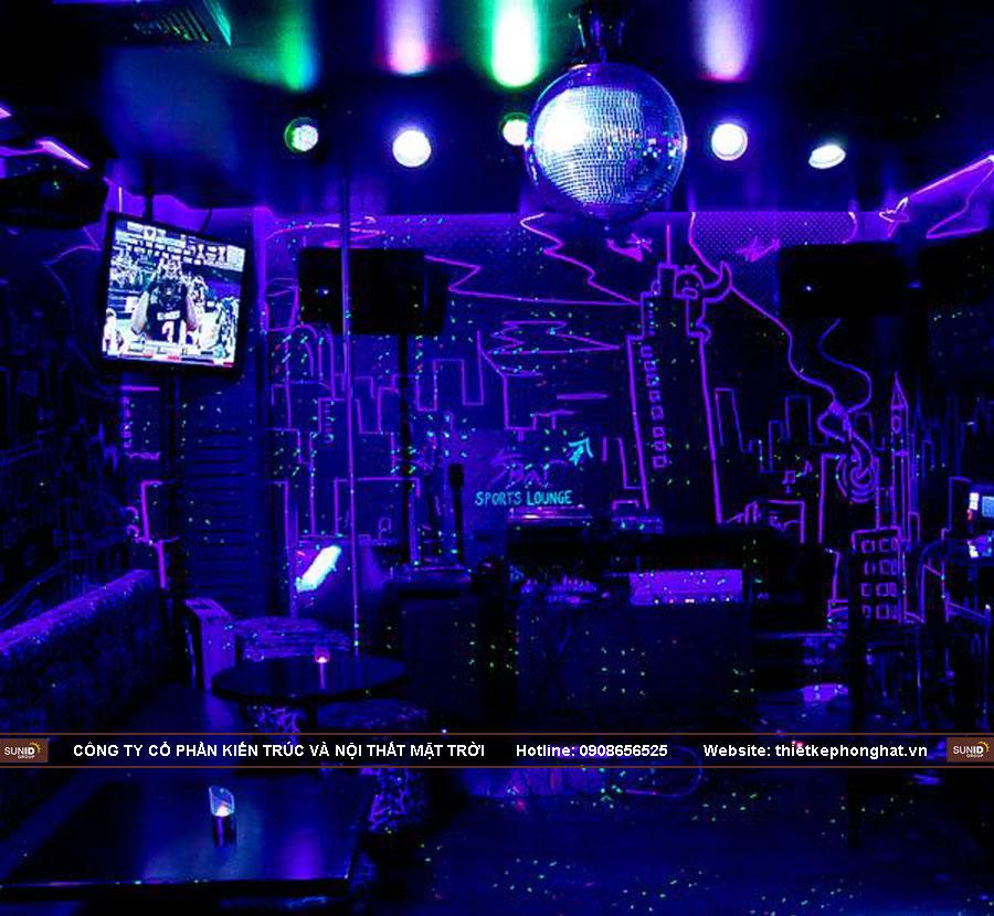 Công ty chuyên thiết kế thi công quán hát Karaoke