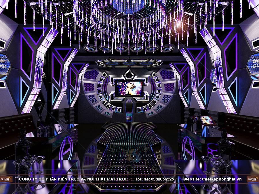 Thiết kế phòng hát Karaoke tại Bắc Ninh