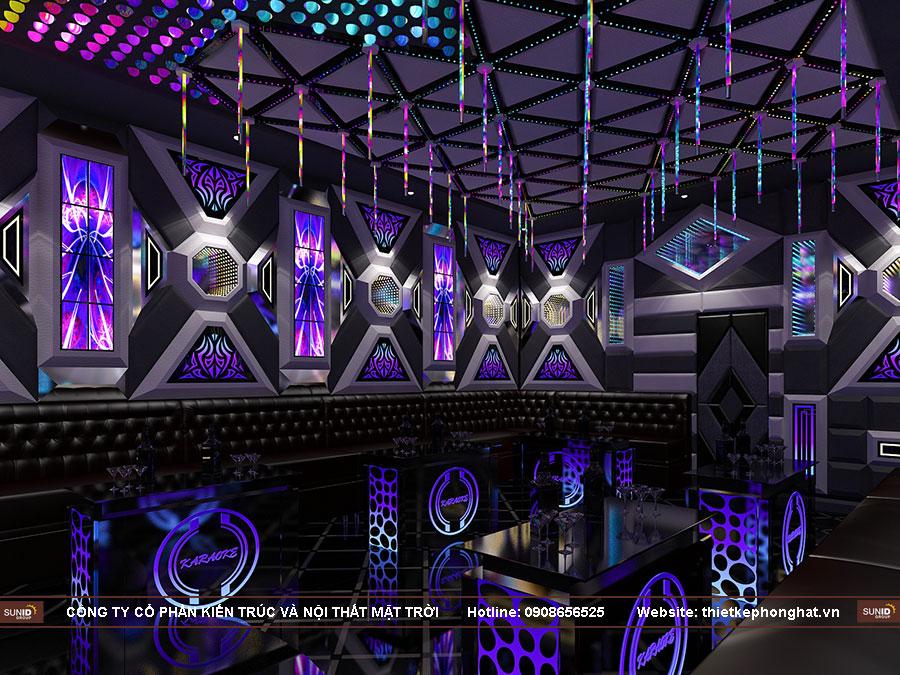 Thiết kế phòng hát Karaoke tại Quảng Ninh