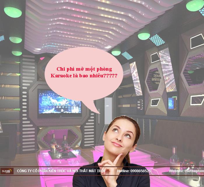 chi phí mở quán karaoke