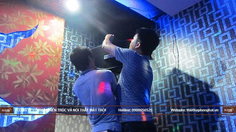 dịch vụ sửa chữa phòng karaoke