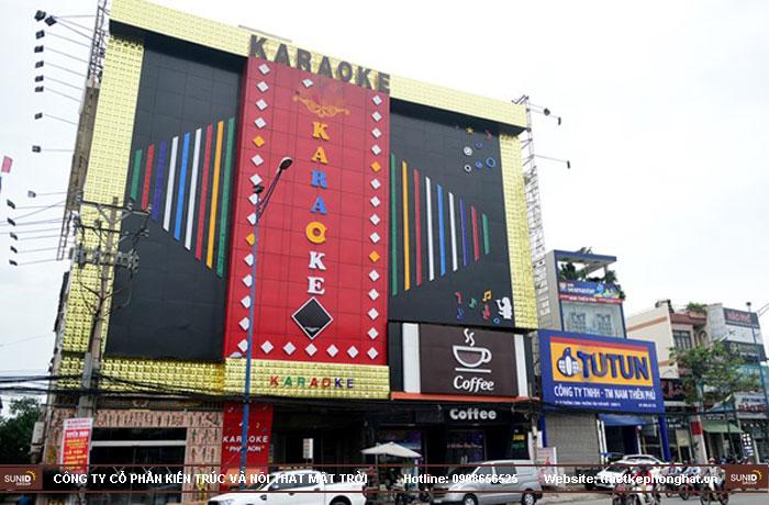 mẫu thiết kế mặt tiền quán karaoke14