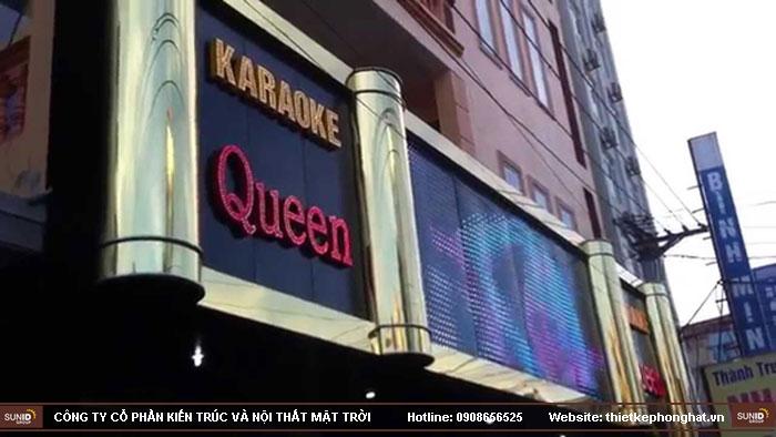 mẫu thiết kế mặt tiền quán karaoke4