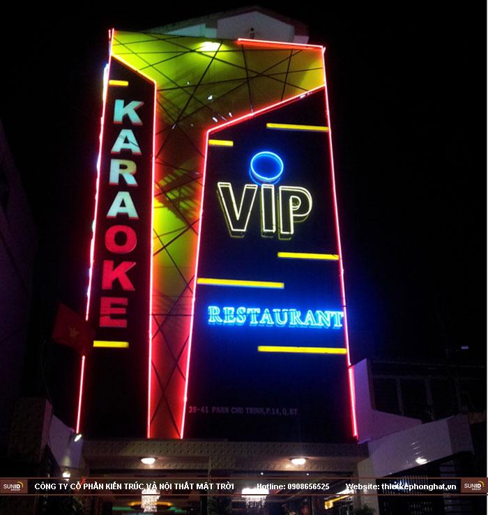 mẫu thiết kế mặt tiền quán karaoke9