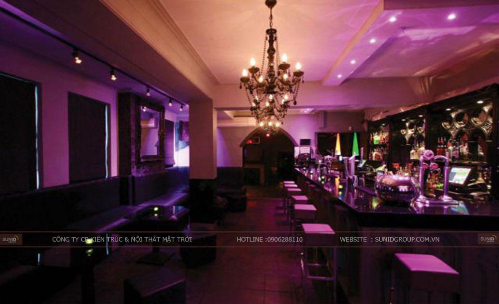 Thiết kế nội thất quán Bar uy tín