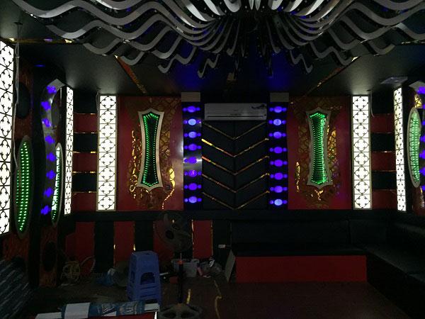 thi công phòng hát karaoke đẹp hải dương10