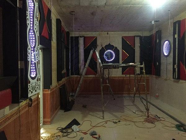 thi công phòng hát karaoke đẹp hải dương3