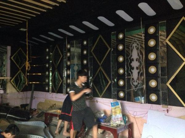 thi công phòng hát karaoke đẹp hải dương4