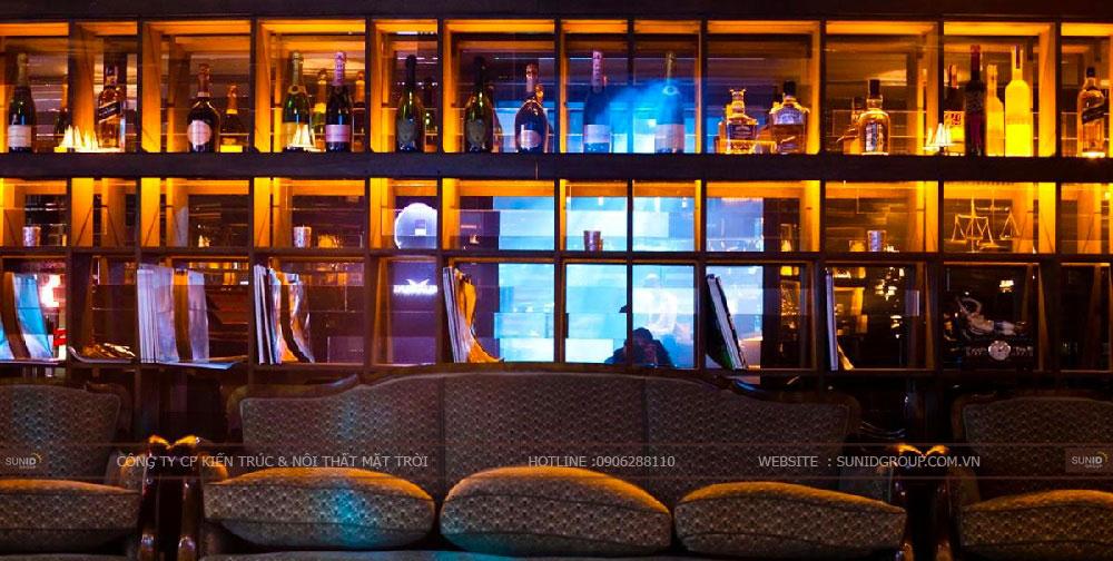 Thiết kế thi công nội thất quán bar đẹp ấn tượng
