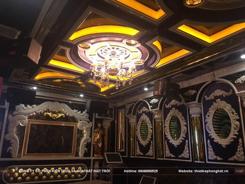 thiết kế phòng hát karaoke tân cổ điển sang trọng đẳng cấp14