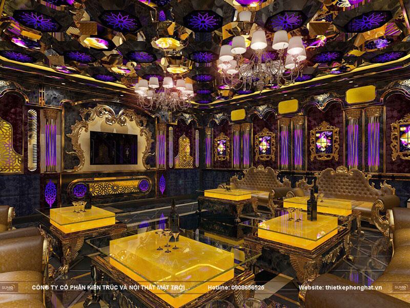 thiết kế phòng hát karaoke tân cổ điển sang trọng đẳng cấp2
