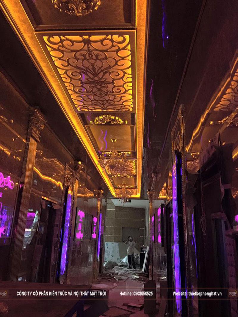 thiết kế phòng hát karaoke tân cổ điển sang trọng đẳng cấp22