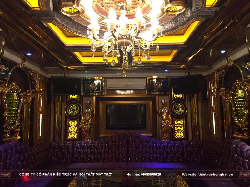 thiết kế phòng hát karaoke tân cổ điển sang trọng đẳng cấp9