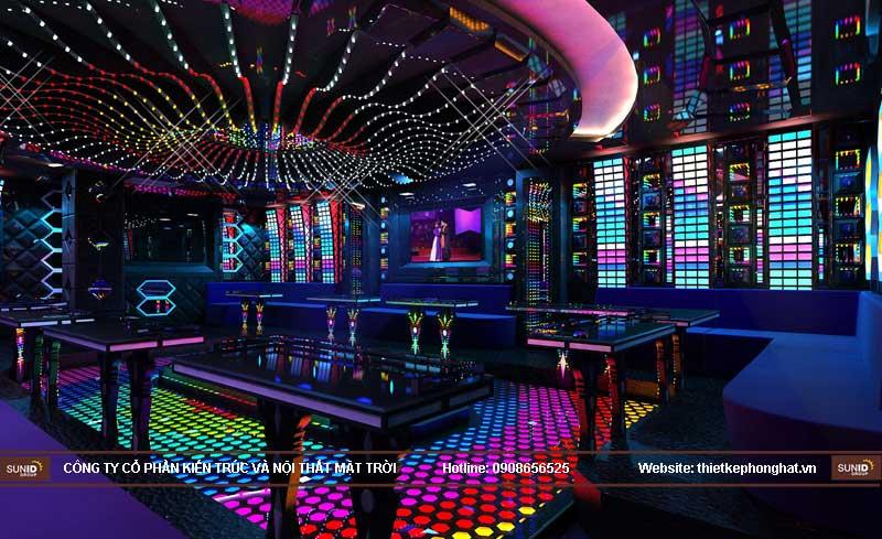 thiết kế phòng karaoke vip hiện đại