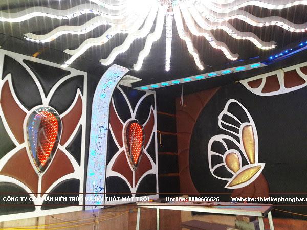 Thiết kế thi công nội thất phòng Karaoke tại Hải Phòng