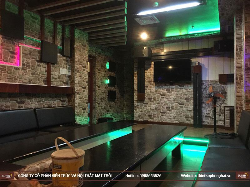 trang trí phòng karaoke đẹp bằng giấy dán tường1