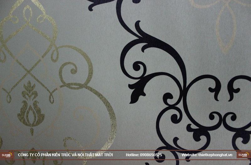 trang trí phòng karaoke đẹp bằng giấy dán tường6