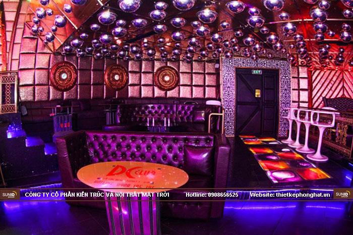 Thiết kế quán bar đẹp lung linh tại miền Bắc