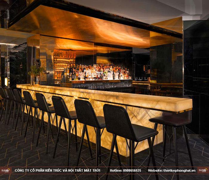 12 mẫu thiết kế quầy lễ tân sảnh chờ karaoke đẹp ấn tượng12