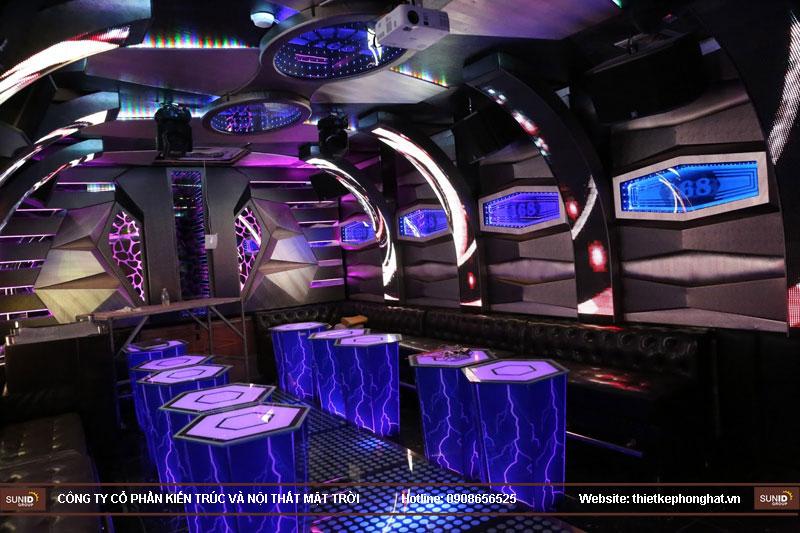 lắp đặt phòng karaoke 168 nam định2