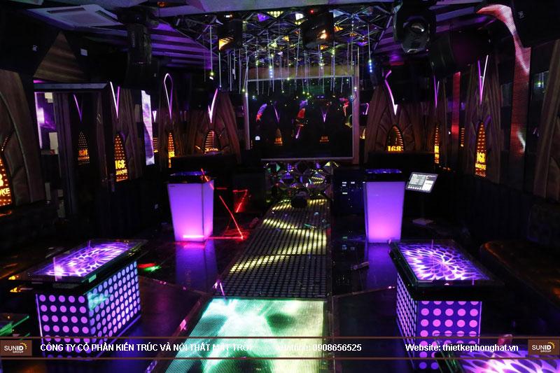 lắp đặt phòng karaoke 168 nam định3