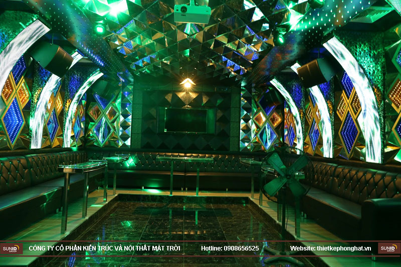 lắp đặt phòng karaoke 168 nam định4