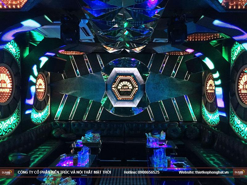 lắp đặt phòng karaoke 168 nam định6