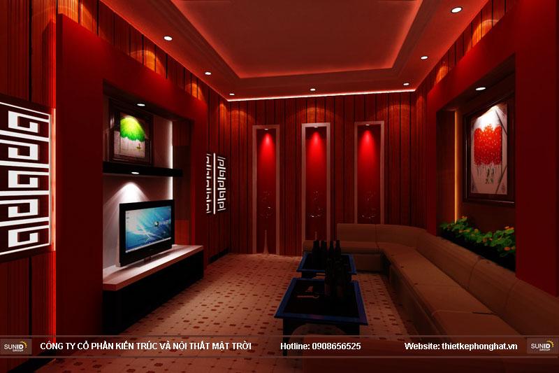 mẫu thiết kế phòng karaoke đẹp lung linh12