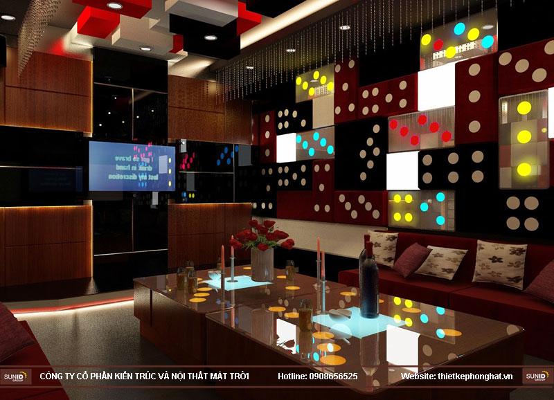 mẫu thiết kế phòng karaoke đẹp lung linh3
