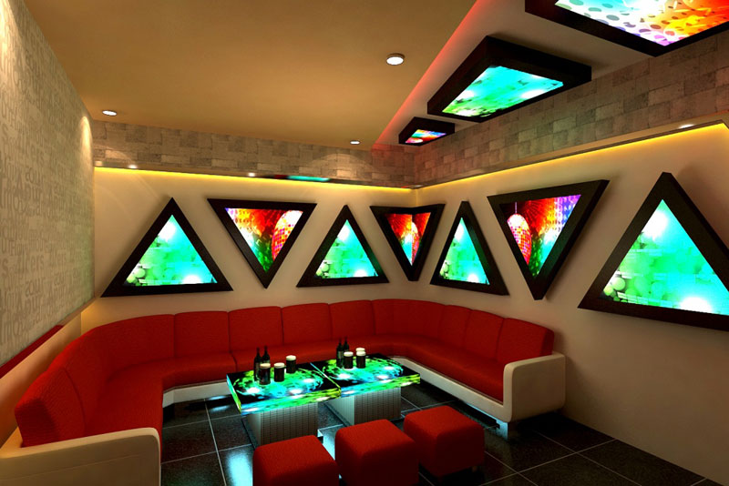 mẫu thiết kế phòng karaoke đẹp lung linh6